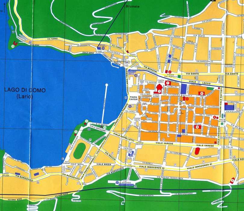 mappa con v geno1377