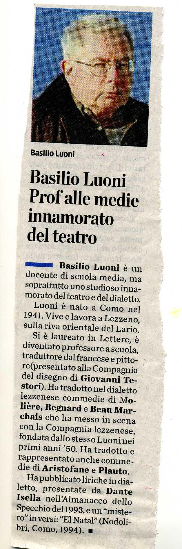 BASILIO LUONI1779