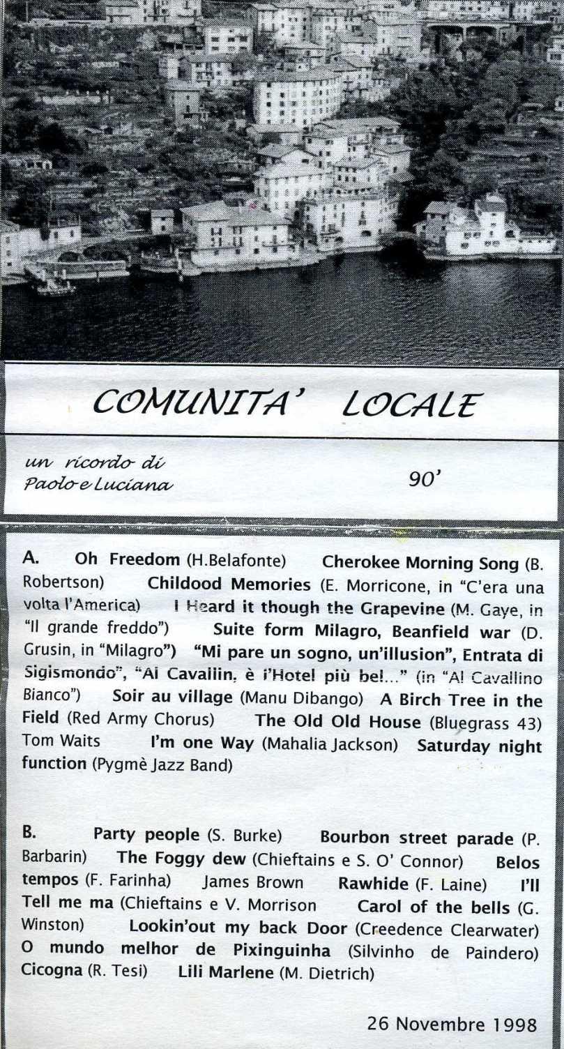 COMUNITA LOCALE DOM1790