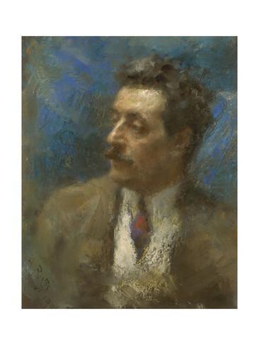 arturo-rietti-portrait-of-giacomo-puccini-1906