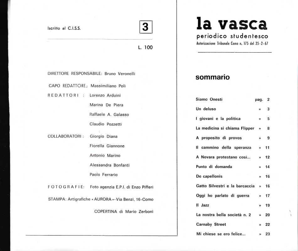 LA VASCA 2863