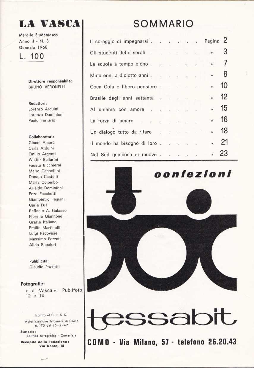 LA VASCA 2867