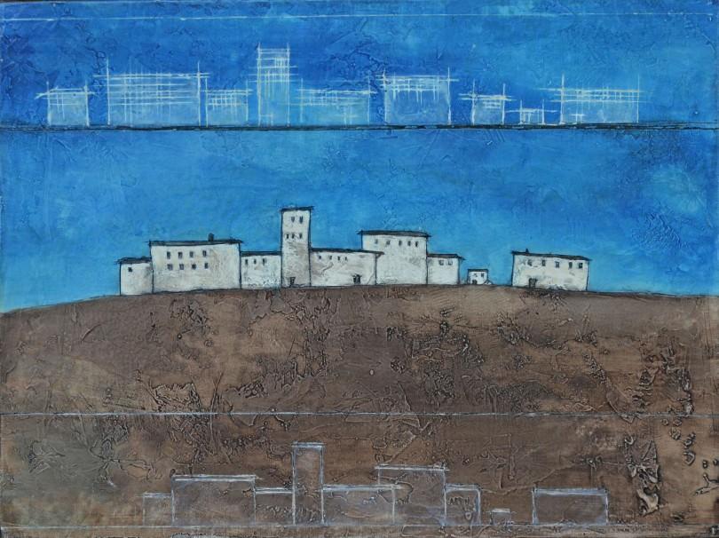 Città volante – Progettazione, 1988