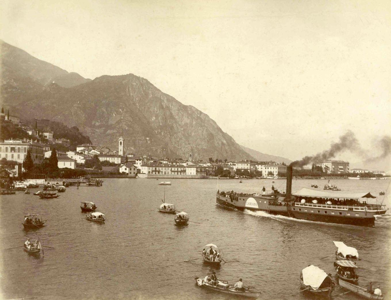 Giacomo Brogi, Menaggio, albumina, 1895 ca_b