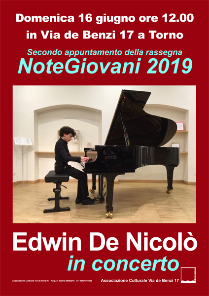 Edwin De Nicolo-16 giugno