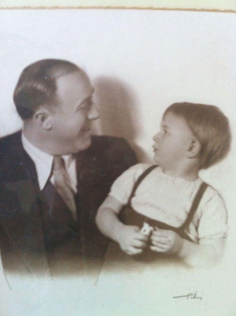 Gianni ed Enrico Mantero_1936 circa