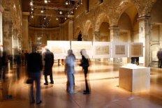 Veduta dell'allestimento della mostra nella ex Chiesa di san Francesco_2011 (FILEminimizer)